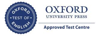Centro examinador oficial Oxford en Pamplona